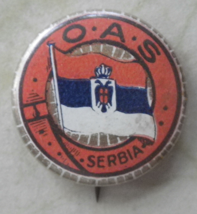 O.A.S. badge for Serbia