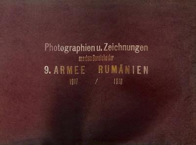 Albumul foto al Armatei 9 germane din campania din România