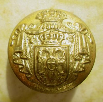 Serbian Army button