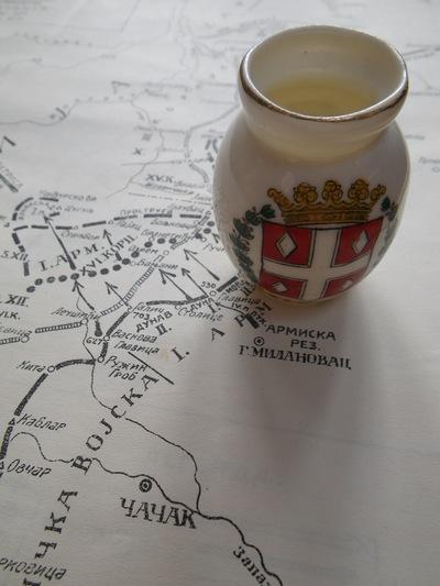 Battle of Kolubara commemorative vase