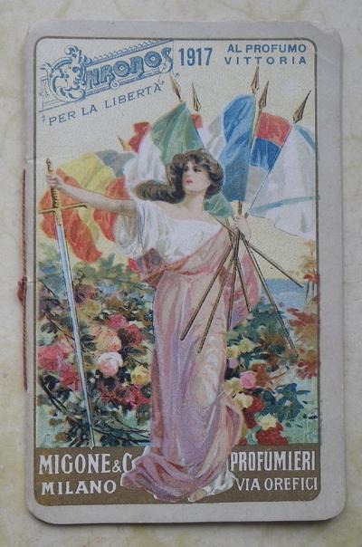 1917 Italian Perfume Calendar