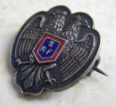 Serbian Relief Fund badge