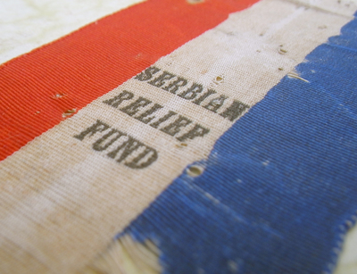 Serbian Relief Fund ribbon