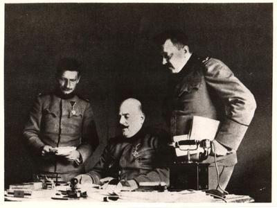 Serbian 'Black Hand' leader, Colonel Dragutin Dimitrijevic