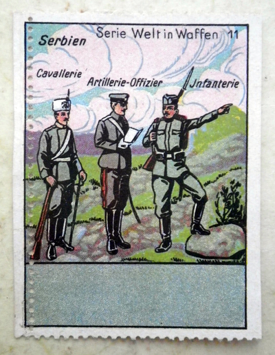 Serbian poster stamp