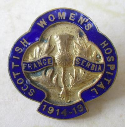 Scottish Women's Hospitals badge