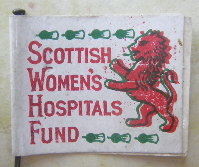Scottish Women's Hospitals Fund Flag Day