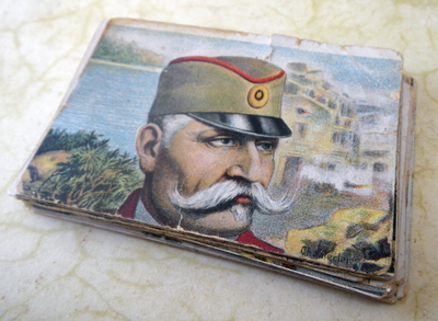 Serbian puzzle cards