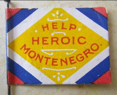 Montenegro Flag Day pin
