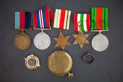 Μετάλλια και Κειμήλια του Στυλιανού Γεωργίου Αρμινιώτη (Macedonian Mule Corps - MMC)