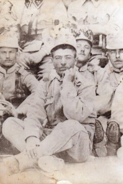Participarea unor săteni din Frata la Primul Război Mondial