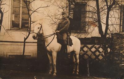 Matheas Künstler în timpul Primului Război Mondial