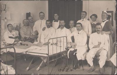 Răniţi în spitalul din Băile Herculane
