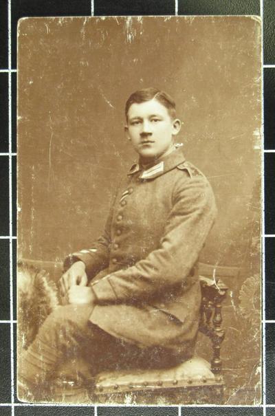 Grenadier Josef Mertens an der Westfront