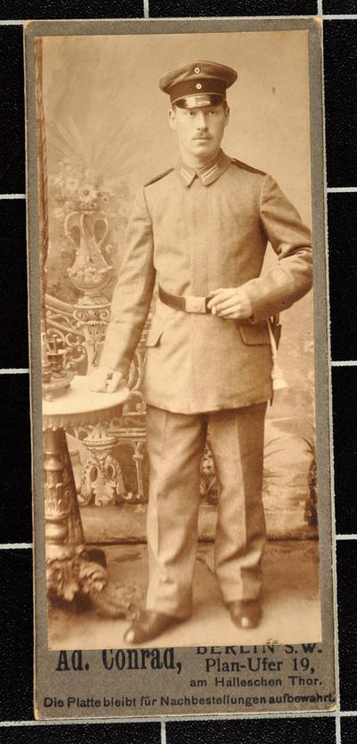 Hubert Strang vom Palästinakorps auf seinem Weg nach Jerusalem und zurück nach Wilhelmshaven