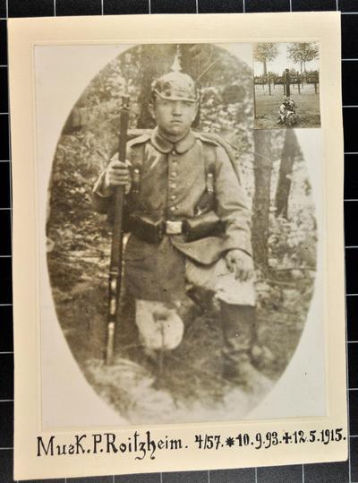 Der Musketier Peter Roitzheim