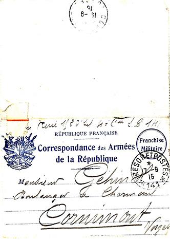 FRAM - Histoire de René Alphonse Géhin
