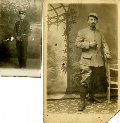 FRAD_063_Jean Terrisse, adjudant au 101e RI territorial