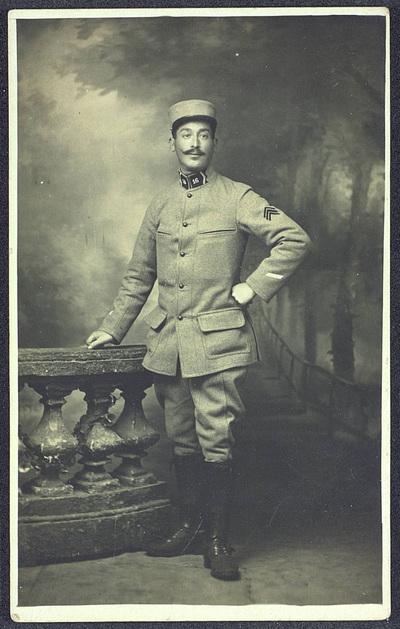 FRAD077-141A, Gérald Vivien, un dragon dans la Grande guerre.