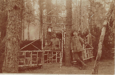 Stillingskrig nord for Lomza - Waldlager Zaleise