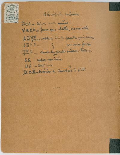 FRAD018_002 Journal d'Alfred HUE sous l'occupation allemande