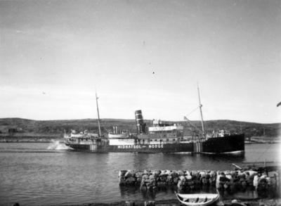 D/S Midnatsol. Det Bergenske Dampskipsselskap