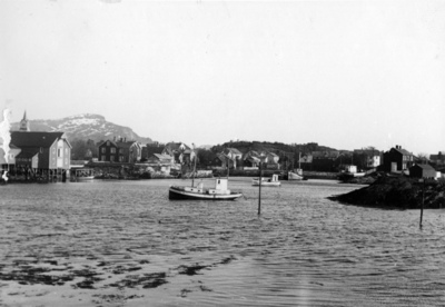 Brønnøysund - Blick vom Standard Tanklager nach Süden