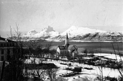 Sandnessjøen kirke - Kirche Sandnessjøen
