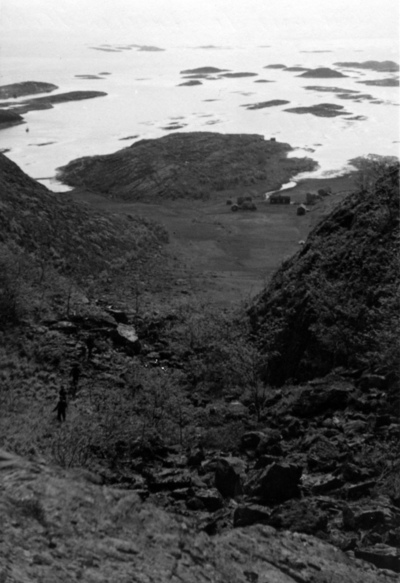 Utsikt fra Torghatten - Blick von Torghatten-Lach nach Süden