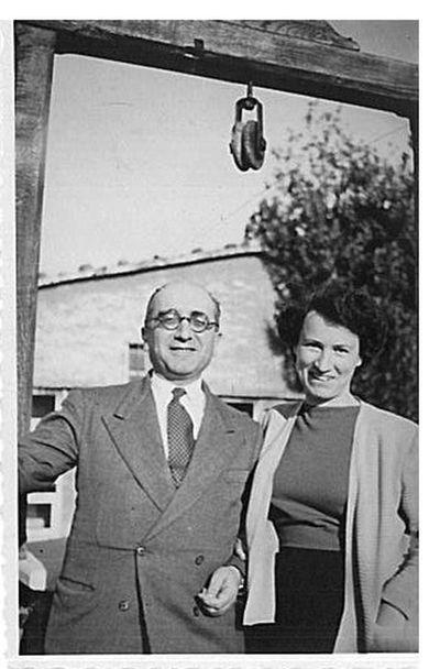 Aldo Capitini e Marcella Battini Apponi