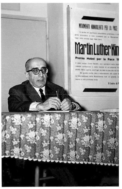 Aldo Capitini al COR