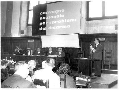 Convegno nazionale sui problemi del disarmo, plenaria