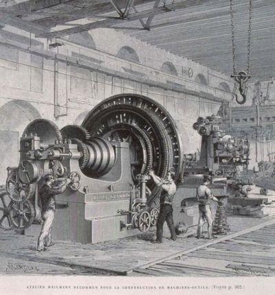 Atelier Heilmann Ducommun pour la construction de machines-outils