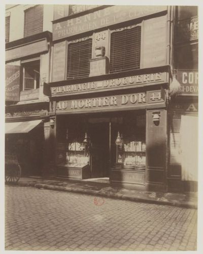 R. des Lombards : [photographie] / [Atget]