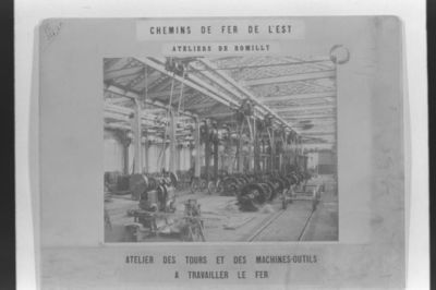 Chemin de fer de L'Est / [non identifié]