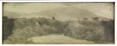 Tivoli. 1842. Vue prise au Pont Lucano : [photographie] / Joseph Philibert Girault de Prangey