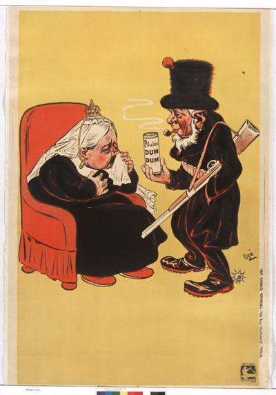 [Si vous toussez, prenez Suprêmes Pilules du docteur Trabant, toutes pharmacies ...]. Pilules Dum-Dum : [affiche avant la lettre] ([Affiche avant la lettre]) / Ogé