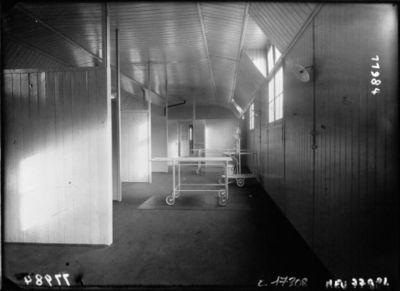 Hôpital Edith Carell : institut de Puériculture : salle d'accouchements : [photographie de presse] / Agence Meurisse