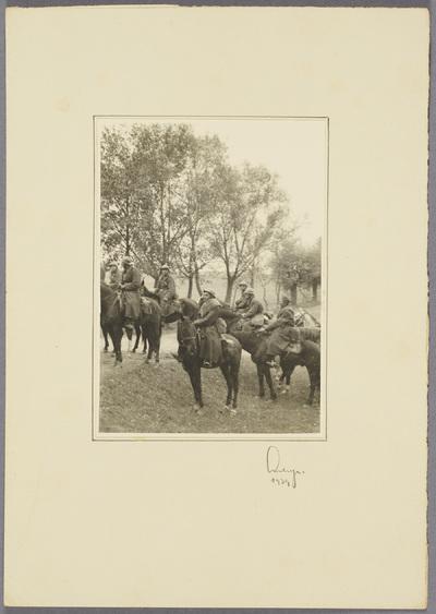 Gefangene polnische Kavalleristen
