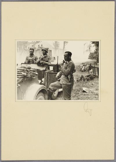 Soldaten bei der Rast