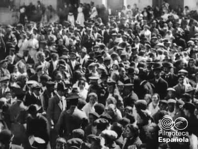 [Inauguración del tramo Gallur-Egea de los Caballeros del ferrocarril Sádaba-Gallur] [Obra audiovisual] / Antonio de Pádua Tramullas.
