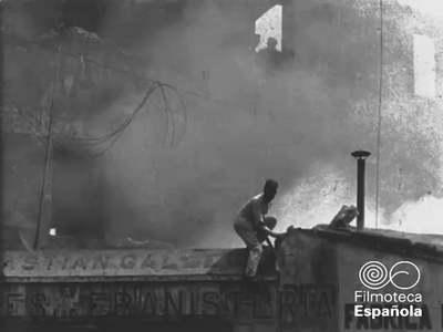 El incendio de Montemolin - Zaragoza 13 mayo de 1913 [Obra audiovisual] / Antonio de Pádua Tramullas.