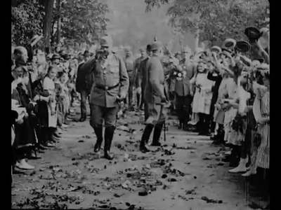 Hindenburgs 70 geburstag im Grossen Hauptquiartier [Obra audiovisual].