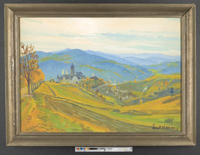 Dorf und Burg Kastl im Lauterbachtal