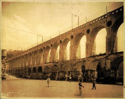Santa Theresa Aquaduct Rio de Janeiro