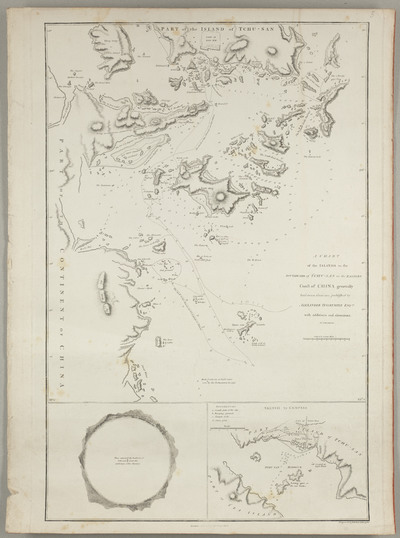 A Chart of the Islands to the Southward of Tchu-San on the Eastern Coast of China : generally laid down from one published by Alexander Dalrymple