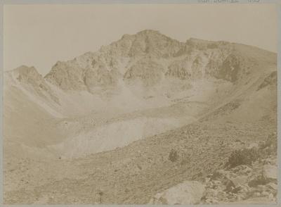 Nordseite des Chorolque
