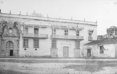 Cartagena: Inquisitions-Palast [Kolumbien.1868: Cartagena]