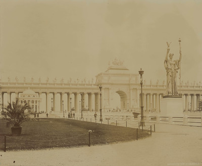 World´s Fair - Chicago: Statue of the Republic and Peristyle