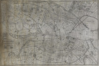 Greater Dublin : a general plan for the development of the city